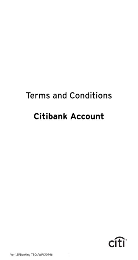 Credit Cards Under Citibank Terms And Conditions Citi India