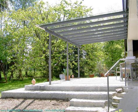 Terrassenüberdachung Stahl