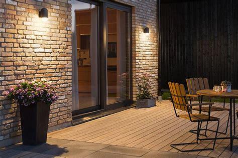 Terrassenbeleuchtung Wand