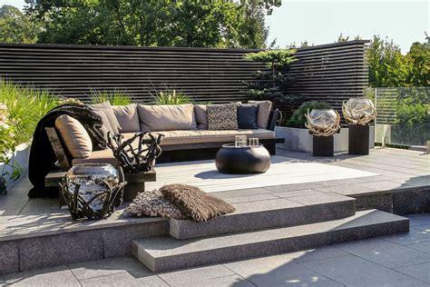 Terrassengestaltung Sichtschutz