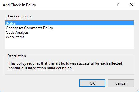 @ Tfs - Forbidden Patterns Policy Missing With Vs2015 .