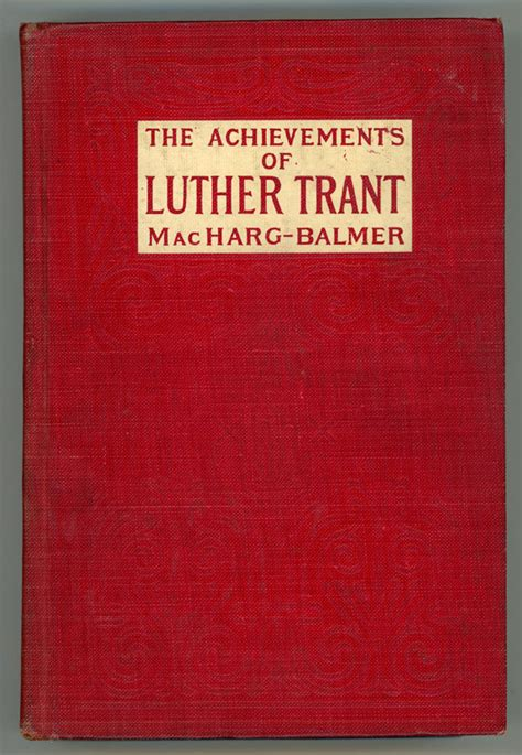 Read Books The Achievements of Luther Trant Online