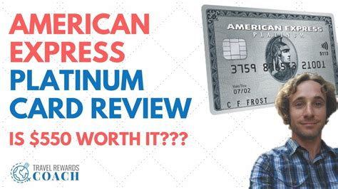 Track Credit Card American Express The American Express Platinum Card Is It Worth 550
