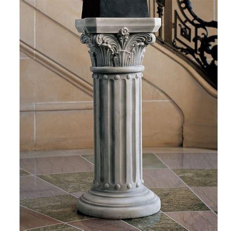 The Athena Corinthian Pedestal Plant Stand
