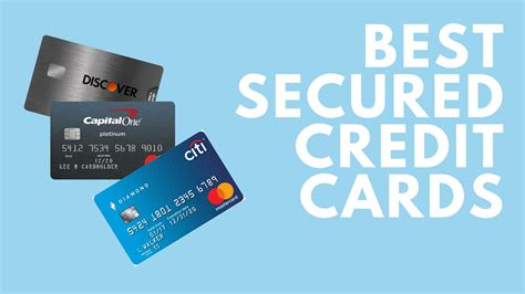 The Best Secured Credit Card To Build Credit Secured Credit Card Build Credit Discover