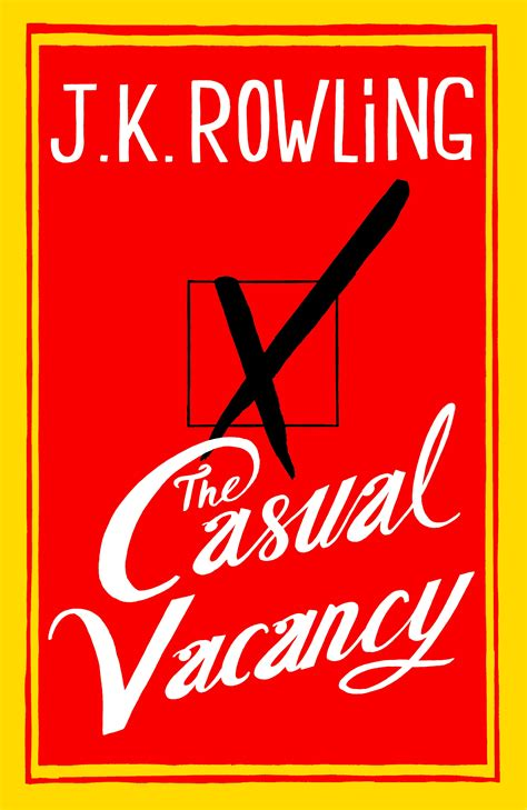 Commercial Lawyer Vacancy London The Casual Vacancy Wikipedia