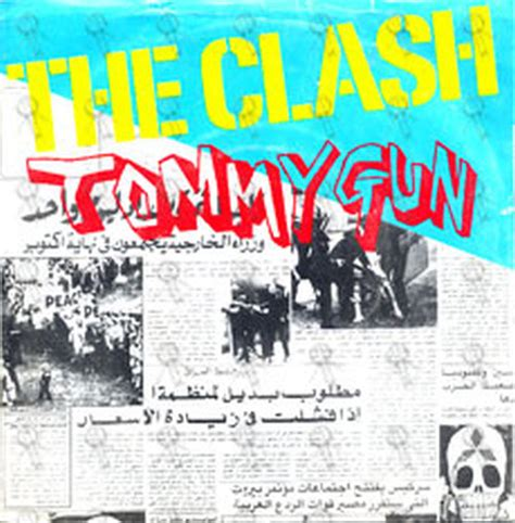 Tommy-Gun The Clash Tommy Gun 7 Vinyl.