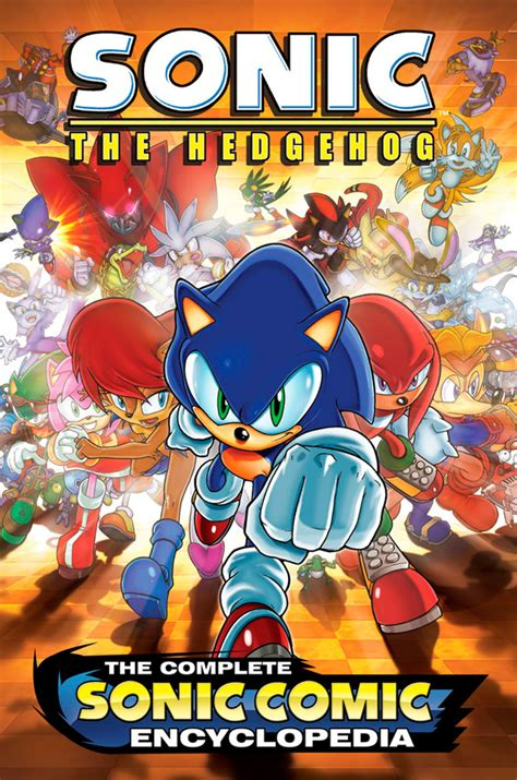 Read Books The Complete Sonic Comic Encyclopedia (Sonic Graphic Novels) Online