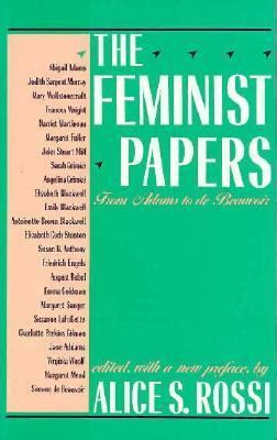 Read Books The Feminist Papers: From Adams to de Beauvoir Online