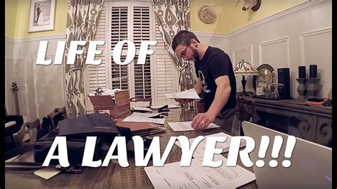Commercial Lawyer Day In The Life The Last Trial A Day In The Life Of An Attorney Youtube