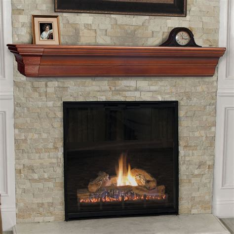 The Lindon Fireplace Shelf Mantel