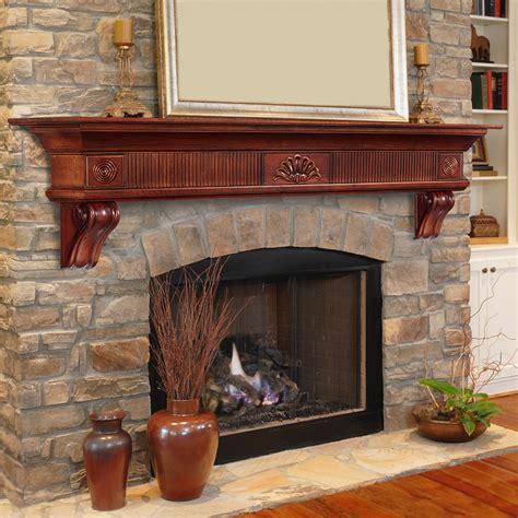 The Lindon Fireplace Shelf Mantel