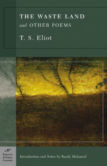 Read Books The Waste Land and Other Writings Online