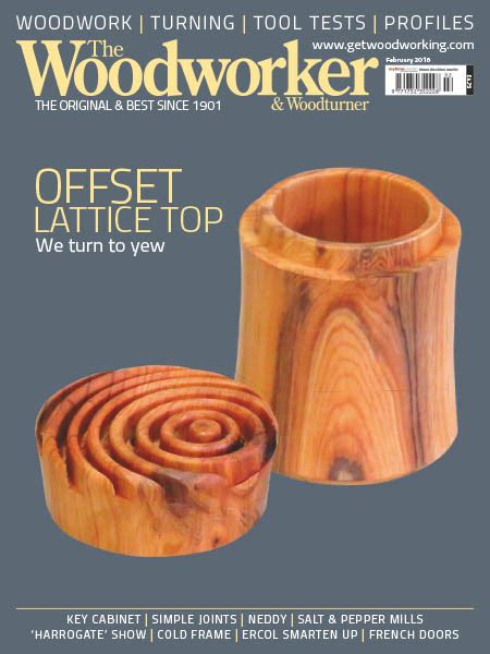 The Woodworker Woodturner Magazine
