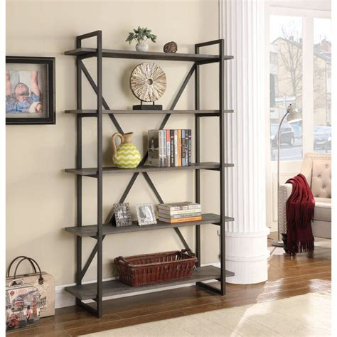Thole Metal Etagere Bookcase