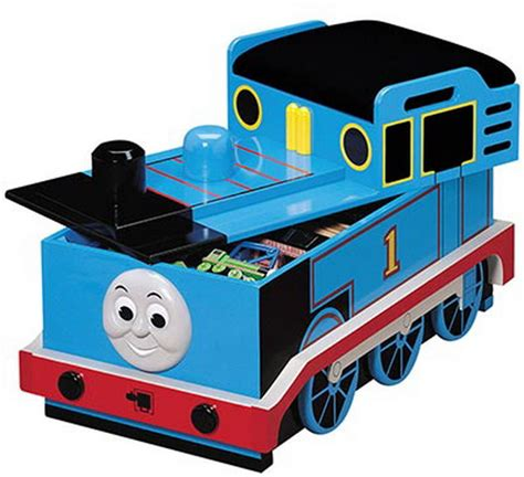thomas the train toy chest wooden