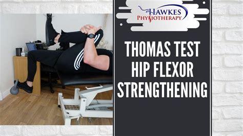thomas test for hip flexor tightness special testing laboratories