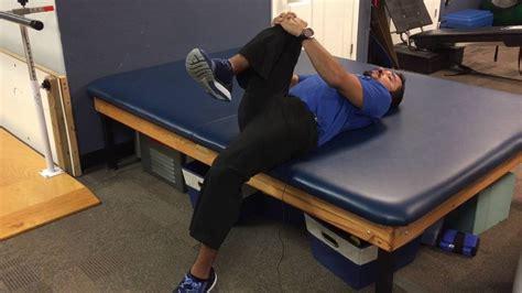 thomas test hip flexor stretches and strengthening of plantar