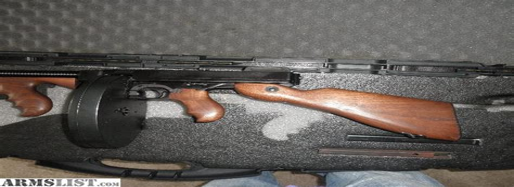 Tommy-Gun Thompson 45 Acp Tommy Gun.
