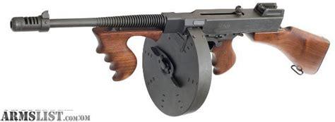 Tommy-Gun Thompson 45 Cal Tommy Gun.