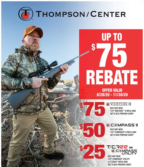 Main-Keyword Thompson Center Rebate.