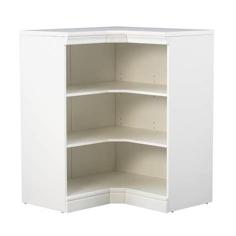 Three Shelf Corner Unit