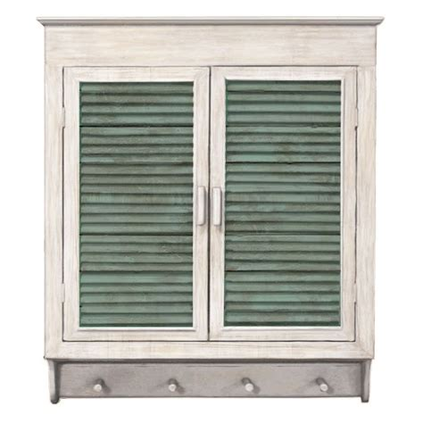 Thurman Louvered Cabinet