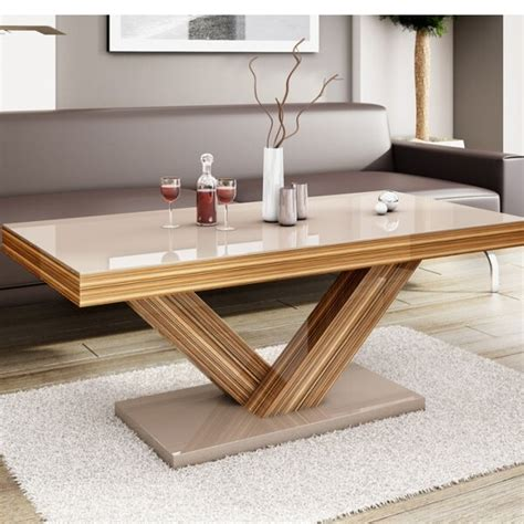 Thurmont Cross Legs Coffee Table