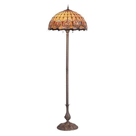 Tiffany Tulip Floor Lamp  Ebay.