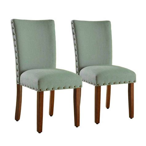 Tighe Seafoam Upholstered Dining Chair (Set of 2)