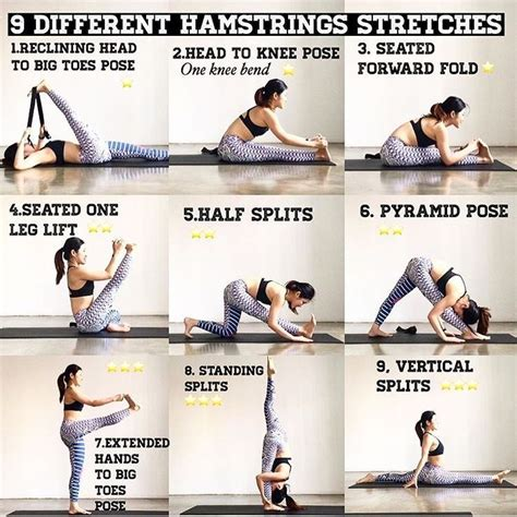 tight hamstring muscles stretching exercises
