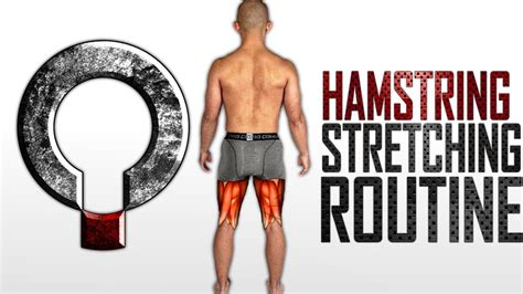 tight hamstrings stretching routine for posterior chain