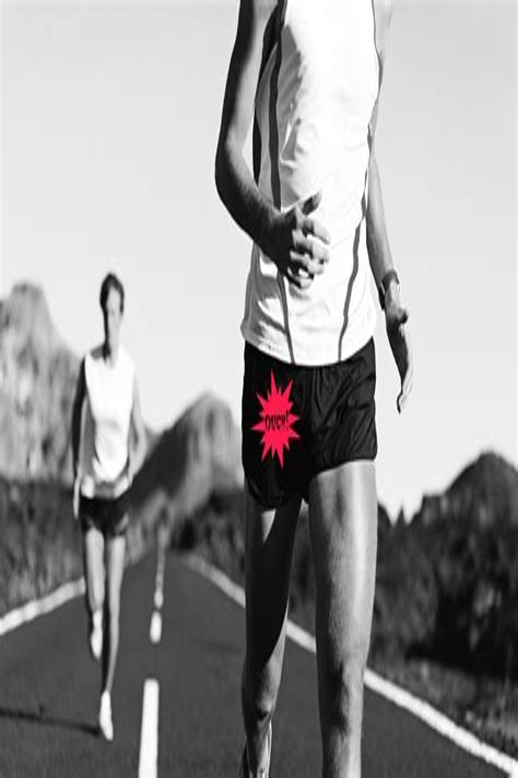 tight hip flexor problems in runner's high race