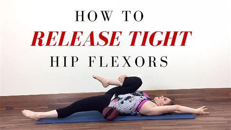 tight hip flexor release exercises to strengthen core