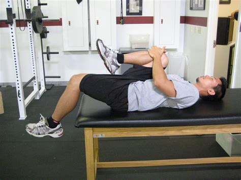 tight hip flexor test in prone positioning with vent