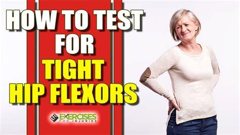 tight hip flexor testing for celiac results