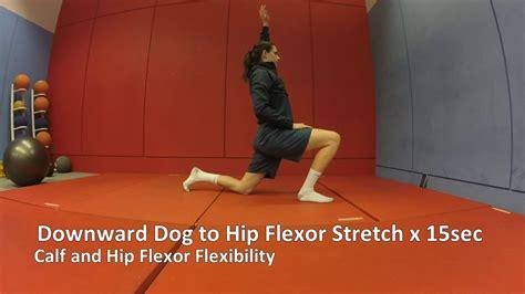 tight hip flexors painful downward dog cancelled tv