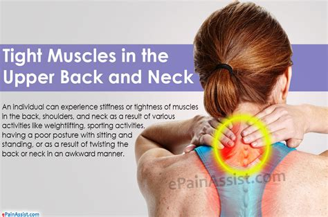 tight neck and shoulder muscles causes