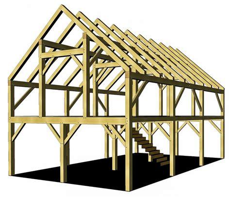 Timber Frame Barn Plans Free