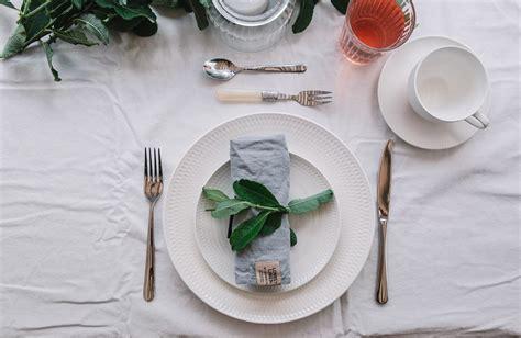 Tisch Eindecken