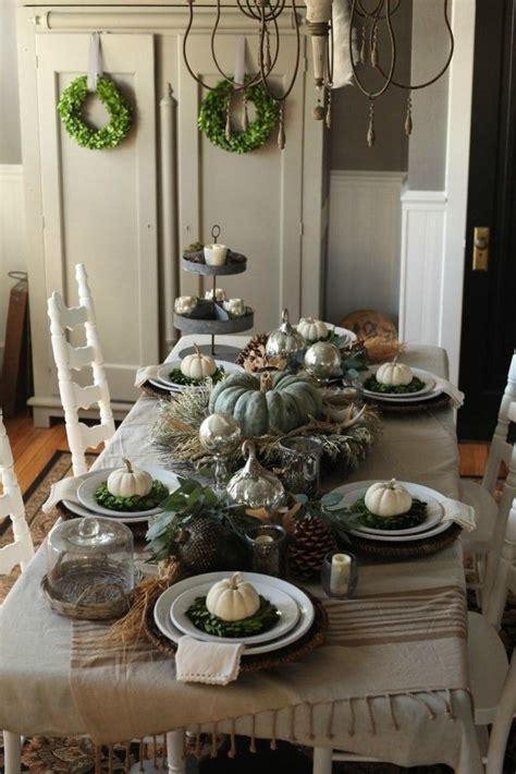 Tischdeko Herbst Modern