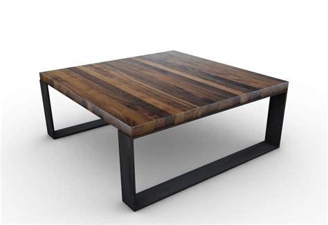Tischfabrik24 Couchtisch Raw Rohstahl Und Nussbaum Astfrei