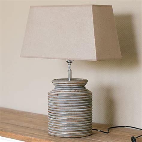 Tischlampe Holzfuss Leuchte Holz Lampenfua Lampen Fua Lampe Shabby
