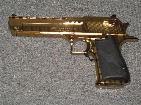 Desert-Eagle Titanium Gold Desert Eagle .50 For Sale.