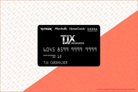 Tjx Rewards Credit Card Pay Bill Tjx Rewards Home
