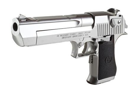 Desert-Eagle Tokyo Marui Desert Eagle 50 Chrome Ebb Pistol.