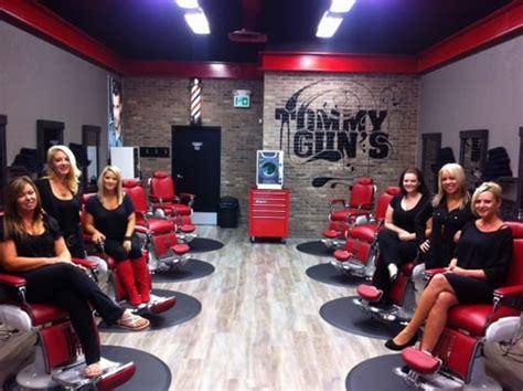 Tommy-Gun Tommy Guns Original Barbershop Abbotsford Bc.