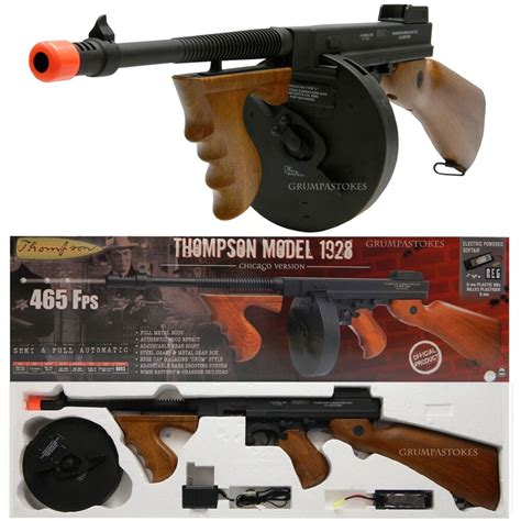 Tommy-Gun Tommy Gun Airsoft Gun Shooting.