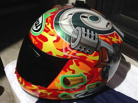 Tommy-Gun Tommy Gun Arai Helmet.