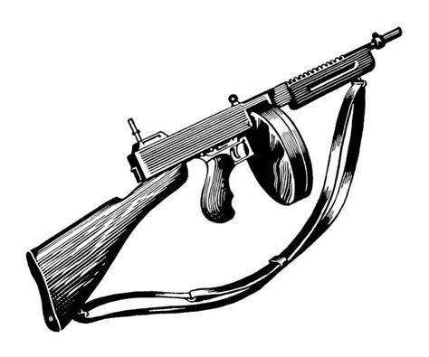 Tommy-Gun Tommy Gun Clip Art.